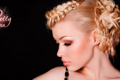 Скидка до 90% на курсы в школе Pretty Woman: «Плетение кос», «Вечерние и свадебные прически», «Стилист по прическам», «Свадебный стилист» от КупиКупон