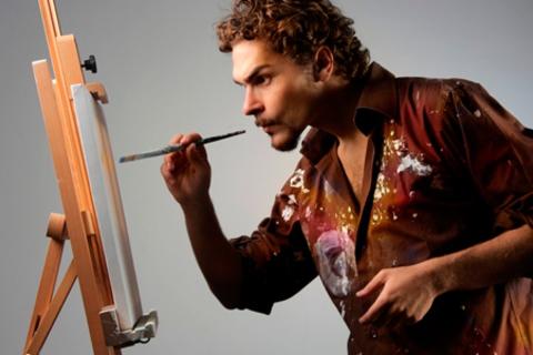Мастер-классы по живописи и декорированию изделий, праздничных  аксессуаров, в том числе свадебных, возрождению или состариванию предметов мебели, созданию елочных игрушек в мастерской современной живописи RGB со скидкой до 68%