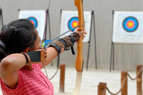 Мастер-класс по стрельбе из лука для одного или двоих в спортивно-стрелковом клубе «Орион». Скидка 50% от КупиКупон