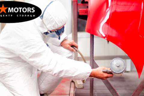 Покраска деталей автомобиля в автотехцентре «Стар Моторс». Скидка до 84% + полировка фар в подарок от КупиКупон