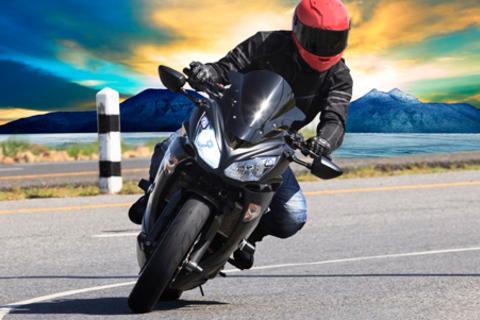 Скидка 94% на 14, 18, 22 или 26 часов вождения мотоцикла на автодромах и полный курс теории ПДД в любой мотошколе «ГАИ - центр подготовки водителей» + прохождение медкомиссии и литература бесплатно