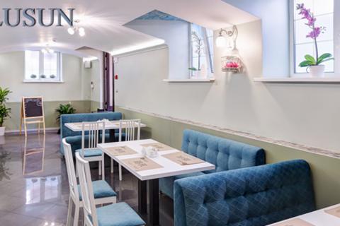 Все меню кухни + проведение банкета в кафе китайской кухни LuSun. Коктейль из морепродуктов, утка по-пекински, креветки с сельдереем, лапша по-сингапурски и не только! Скидка 50%