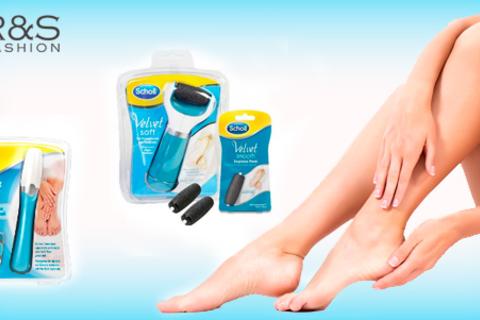 Электрическая пилка для ногтей Scholl Nail Care или пилка для кожи стоп Scholl Diamond Crystals и сменные насадки к ним от интернет-магазина R&S Fashion. Скидка до 63%