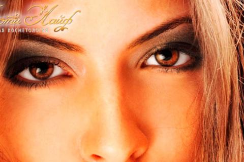 Перманентный макияж бровей и век от мастера международной лиги профессионалов International League of Permanent Make-Up Professionals в центре косметологии «Адель». Скидка до 85%