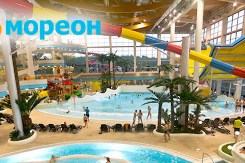 Посещение крупнейшего в Москве аквапарка и терм. Целый день развлечений для взрослых и детей + обед «Немо» в семейном комплексе «Мореон»! Скидка до 42% от КупиКупон
