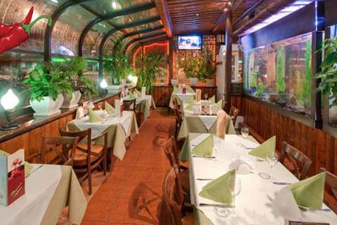 Скидка 50% на всё меню и напитки в ресторане «Ясный перец». Каждому гостю - бесплатное караоке и подарок!