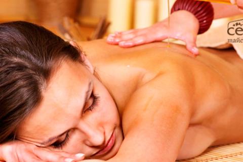 3 или 5 сеансов традиционного тайского массажа, oil-массажа или slim-массажа в spa-салоне «Сен Сай». Скидка до 56%