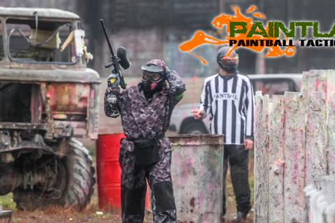 Игра в пейнтбол в сети пейнтбольных клубов Paintland: 8 площадок для игры на территории Москвы! Скидка 58%