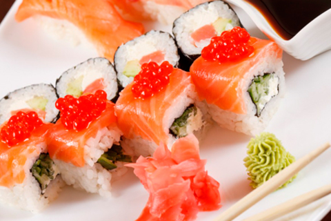 Скидка 50% на любые сеты из меню от службы доставки «Магия вкуса». 100% натуральные продукты!