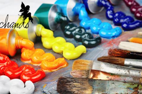 Мастер-классы рисованию: эбру, интуитивное, правополушарное, экспресс-курс обучения за 1 день и курсы рисования от художественной студии Magichands. Скидка до 83%
