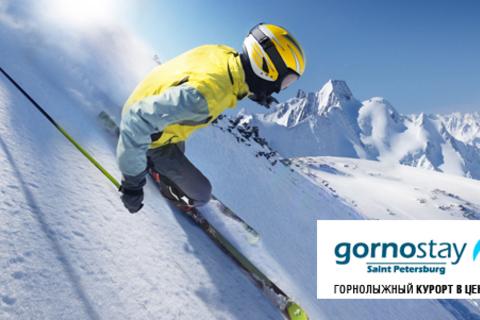Обучение катанию на сноуборде или горных лыжах на тренажере для 1 или 2 человек в клубах Gornostay. Безопасный, эффективный и интересный способ обучения! Скидка до 65%
